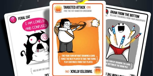 Imploding Kittens: First Expansion of Exploding Kittens Game Only $11 (Regularly $15)