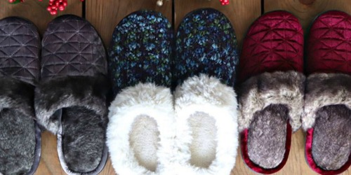 Isotoner Cyber Monday Sale | Women's Slippers Just $11.99 Shipped (Regularly $26)