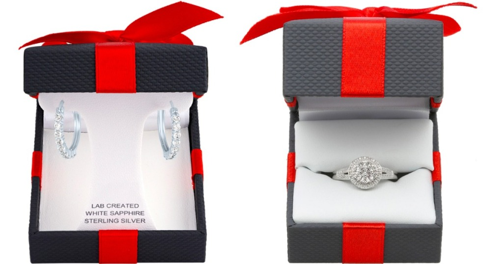 JCPenney Earrings and Ring