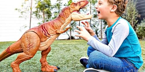 Jurassic World Battle Damage Roarin' T-Rex Only $22.49 Shipped at Best Buy (Regularly $50)