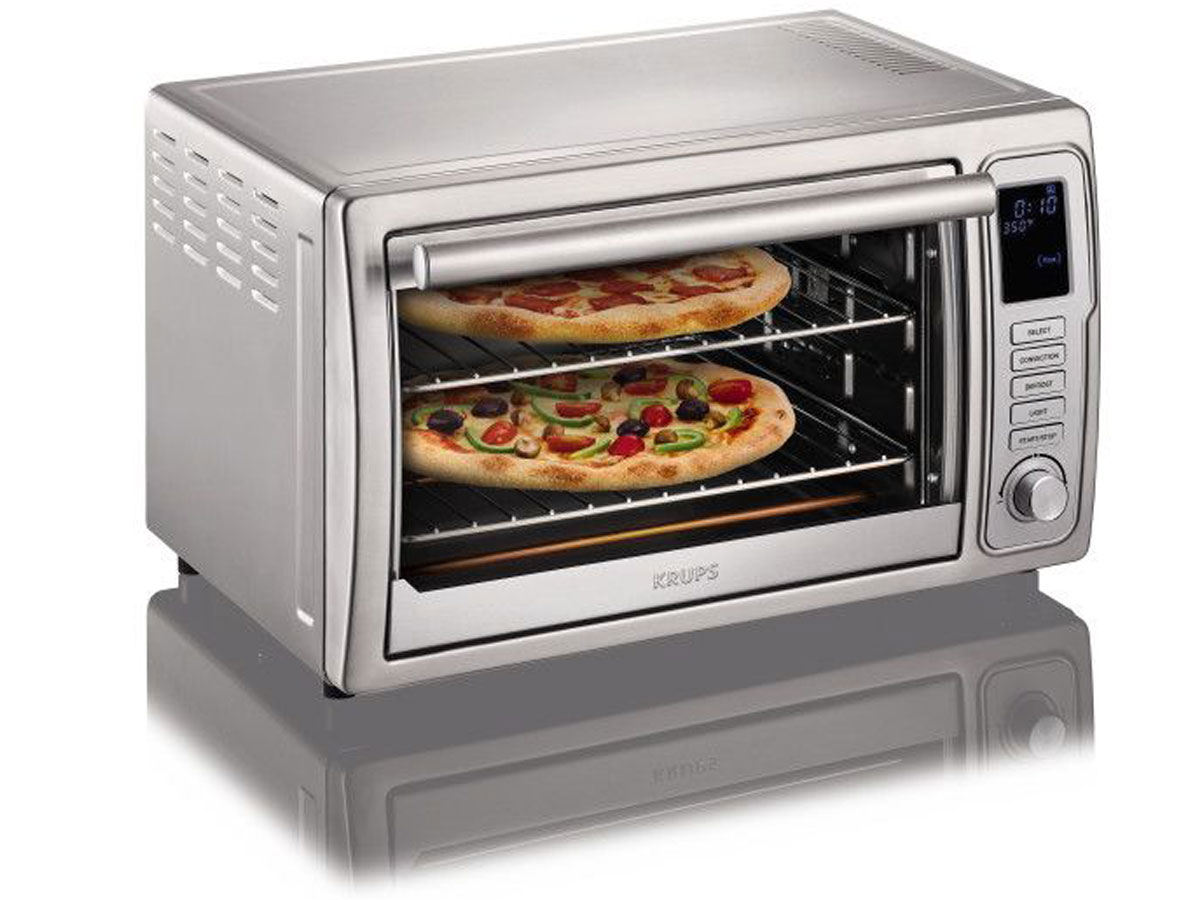 Krups Deluxe Convection Toaster Oven stock image