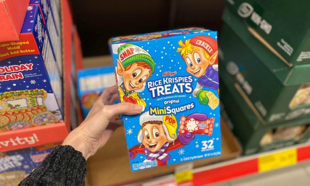 Kellogg's Christmas Rice Krispy Treats MiniSquares