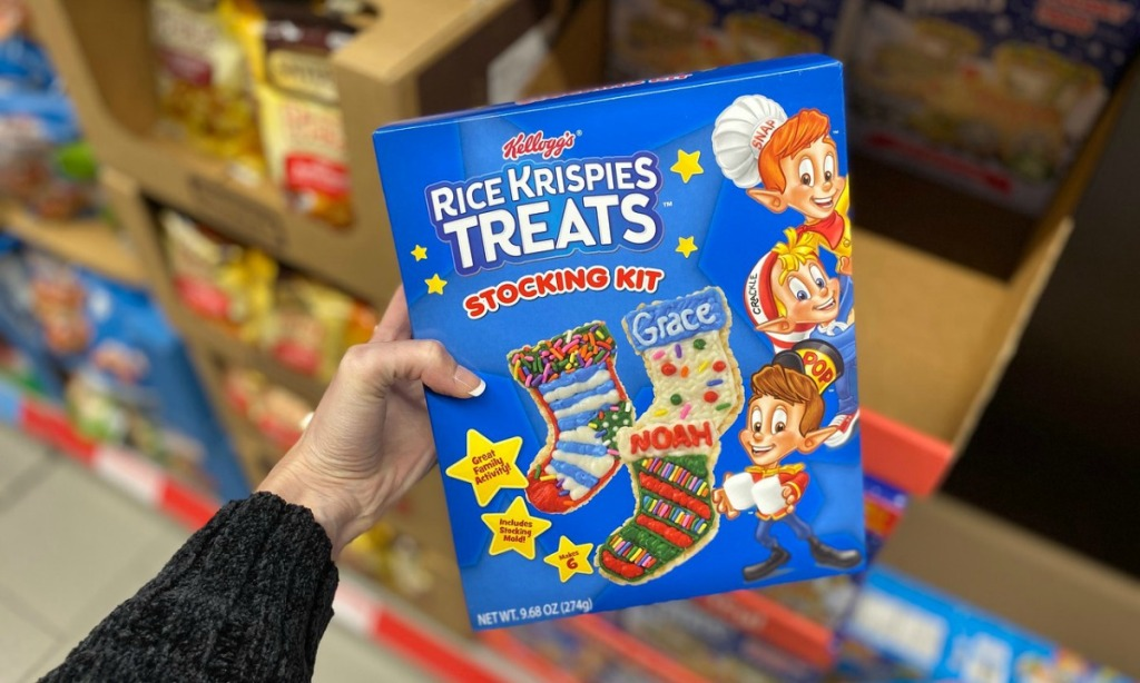 Kellogg's Rice Krispy Treats Kit Christmas Stocking