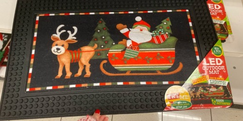 LED Light-Up Doormats Only $17.99 at Kohl's (Regularly $40) | They Play Christmas Songs!