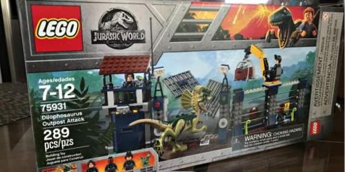 LEGO Jurassic World Dilophosaurus Outpost Attack Set Just $22.99 at Walmart (Regularly $40)