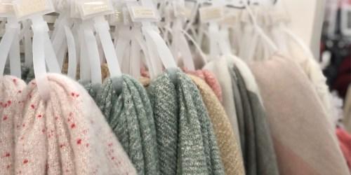 Lauren Conrad Blanket Scarves Only $7.49 at Kohl's (Regularly $32)