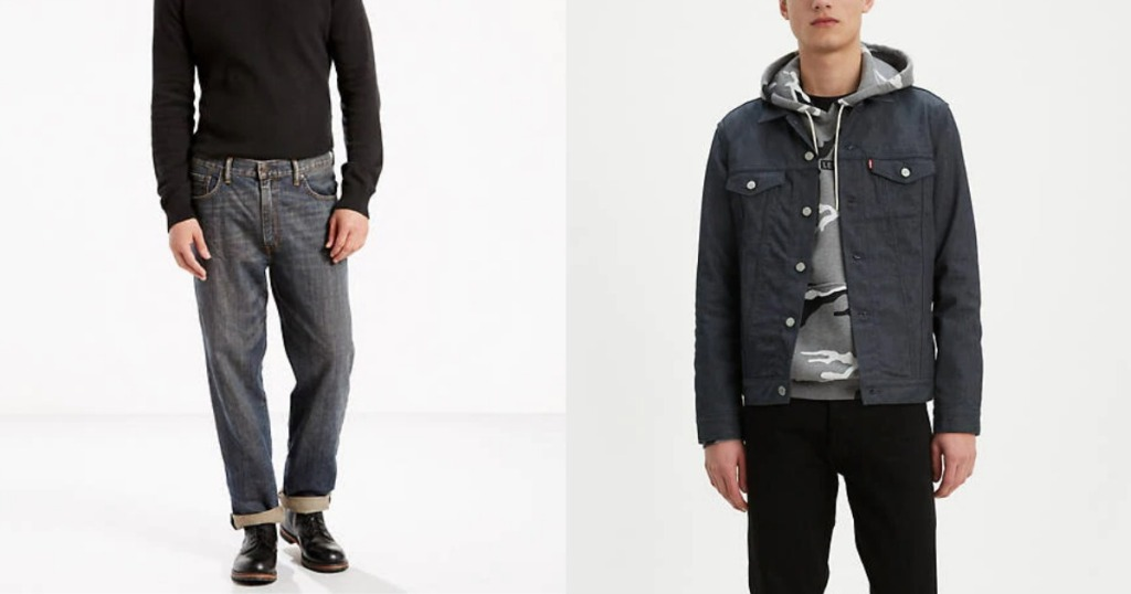 Levi's Jeans and Trucker Jacket