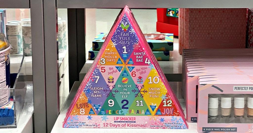 Lip Smacker Advent Calendar 12 Days of Kissmass Lip Set