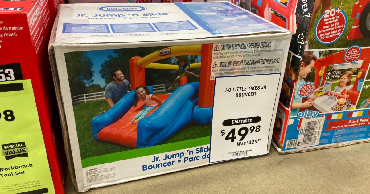Little Tikes Jr Jump N Slide As Low