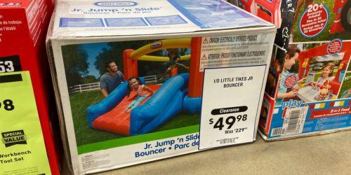 Little Tikes Jr. Jump N Slide as Low as $49.98 at Lowe's (Regularly $230)