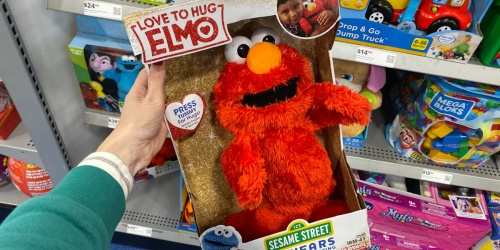 Sesame Street Love to Hug Elmo Plush Toy Only $10.49 Shipped at Best Buy (Regularly $30)