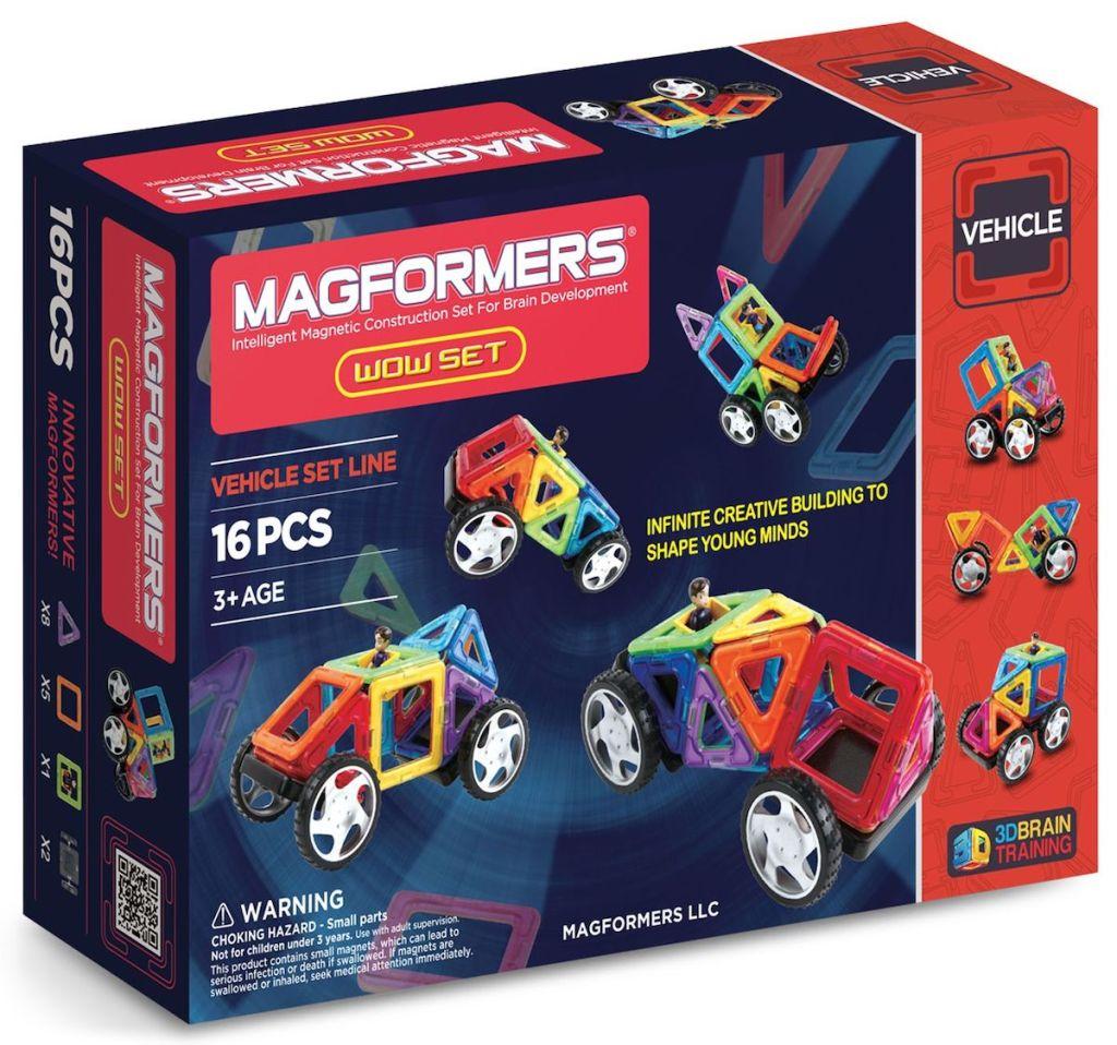 Magformers Vehicle Wow Set box