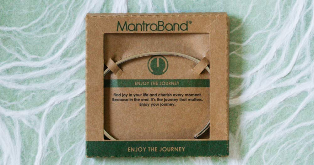MantraBand Bracelet Enjoy The Journey