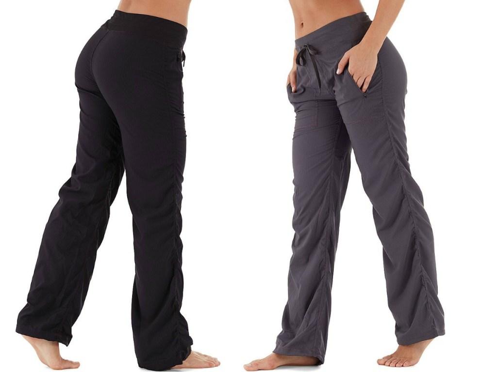 Marika Shirred Travel Pants