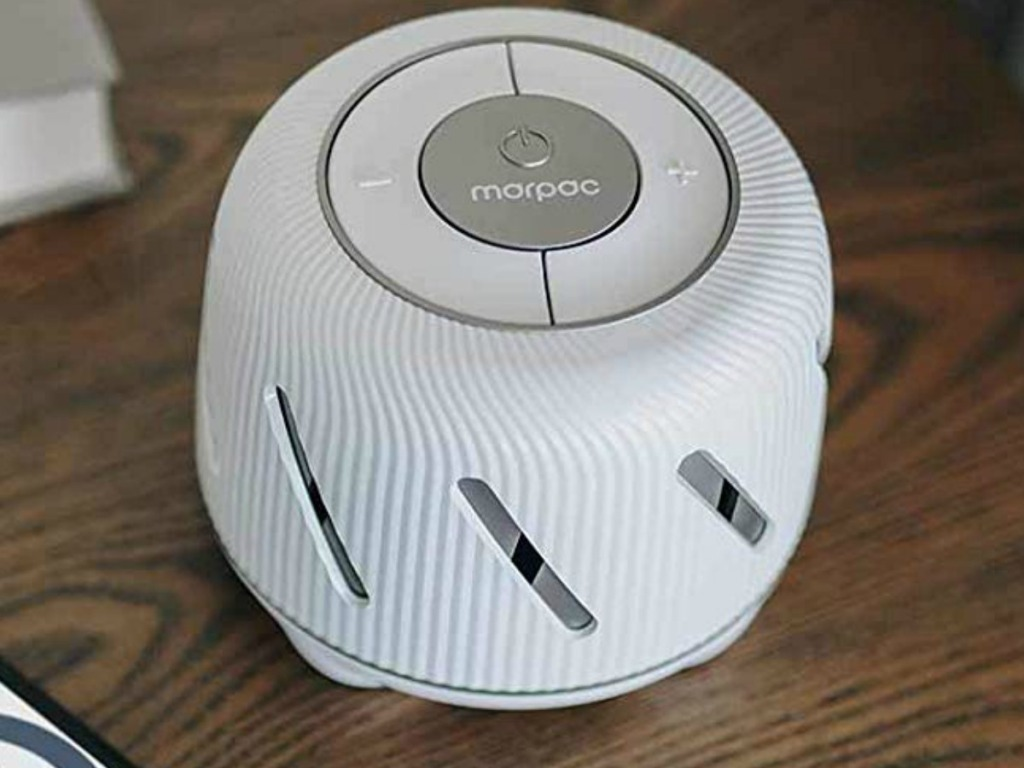 Marpac Dohm Connect on coffee table