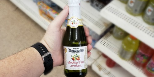FREE Martinelli's Sparkling Juice for Big Lots Rewards Members | Through 12/15