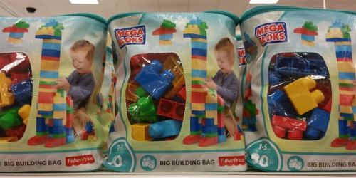 Mega Bloks First Builders 80-Piece Bag Only $11.88 on Amazon (Regularly $25)
