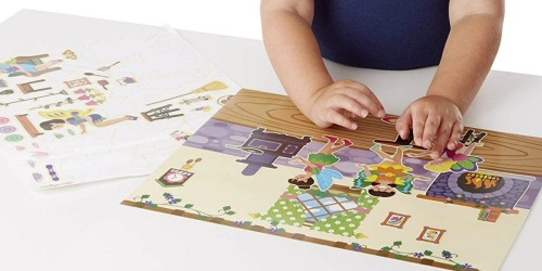 Melissa & Doug Reusable Sticker Pads as Low as $3.49 at Amazon | Fairy & Habitat Stickers