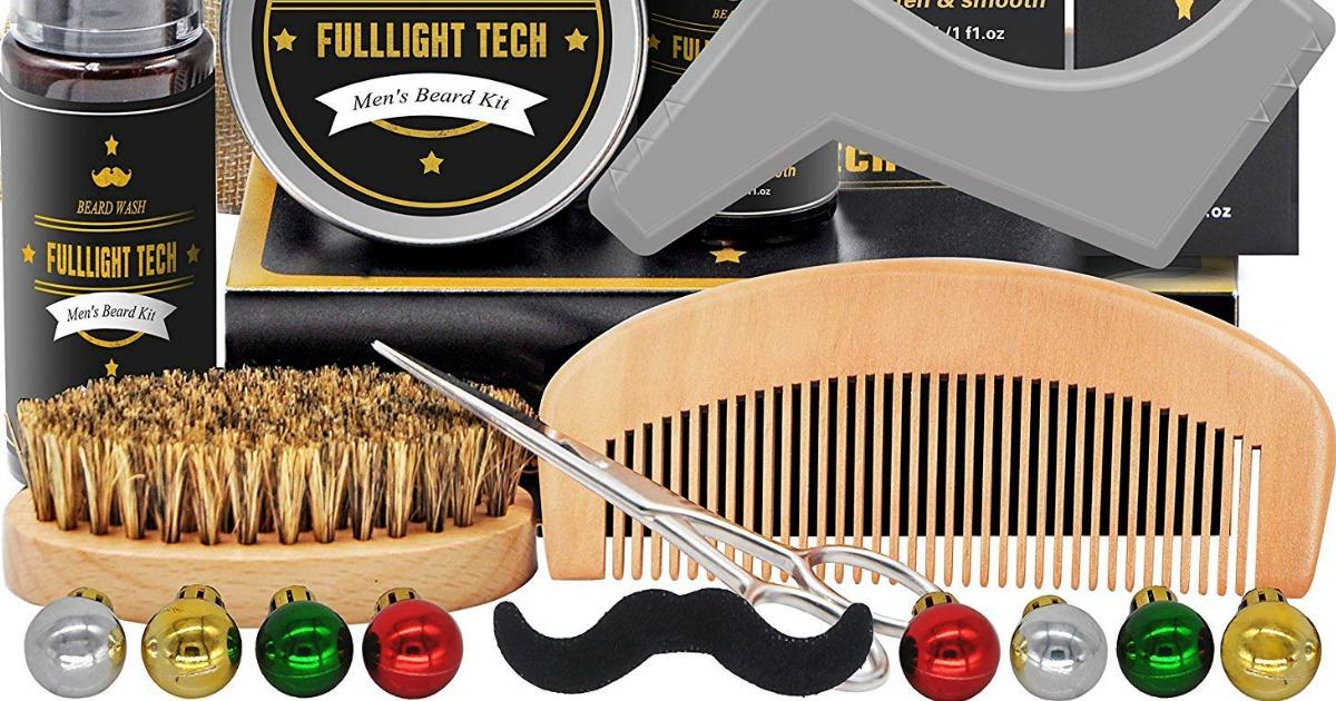 Men's beard kit Christmas box