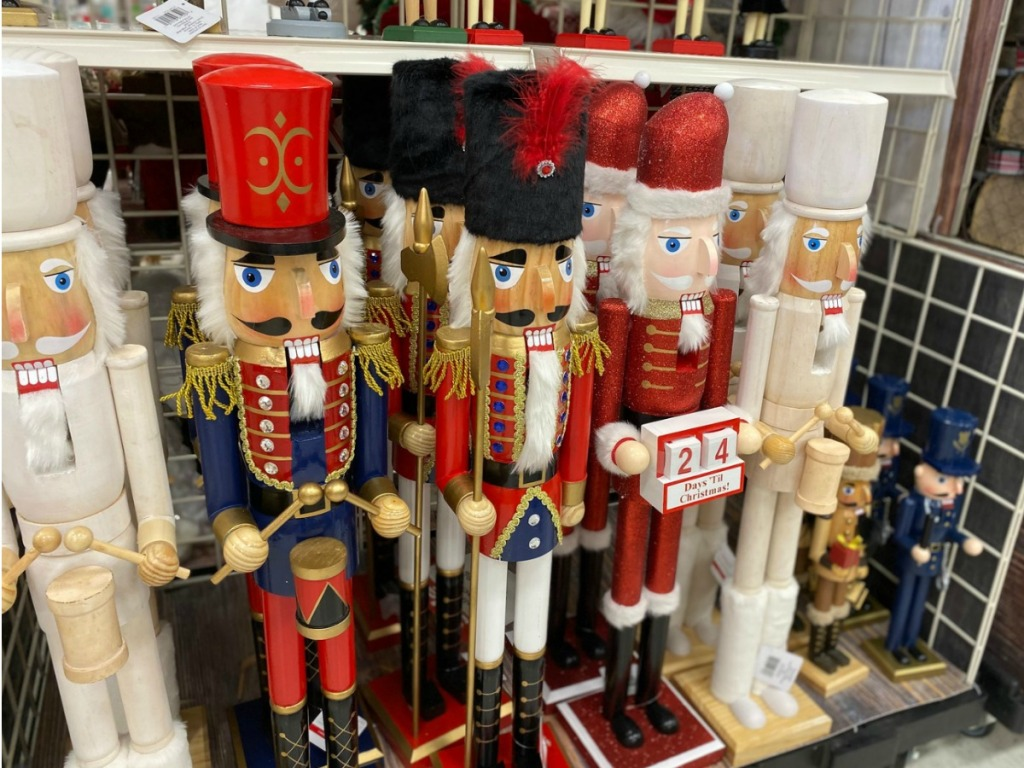 Extra Large Nutcrackers at Michaels