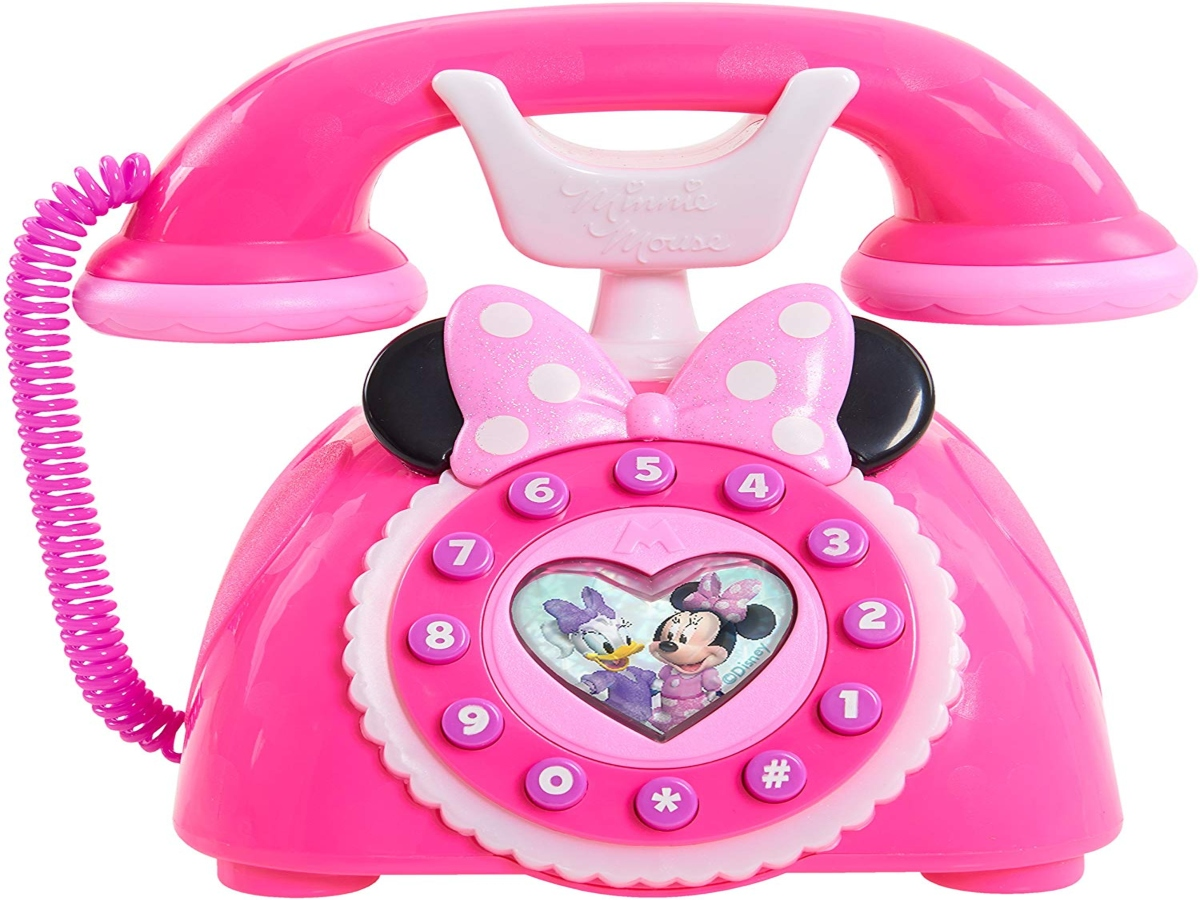 Pink Minnie Mouse Phone