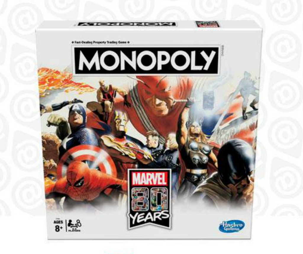 Marvel themed Monopoly Game