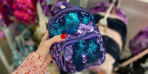 30% Off More Than Magic Sequin Backpacks at Target + Free Shipping