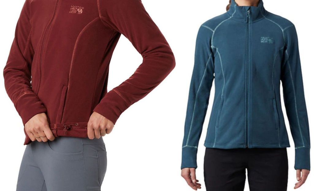 Mountain Hardwear Women's Boreal Jacket blue and garnet