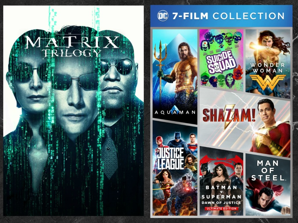 Matrix & DC Movie collections from Fandango