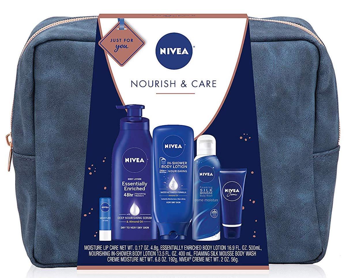 NIVEA Pamper Time Gift Set with bag