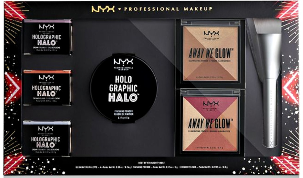 NYX 7-Piece Love Lust Disco Best of Highlight Vault Set