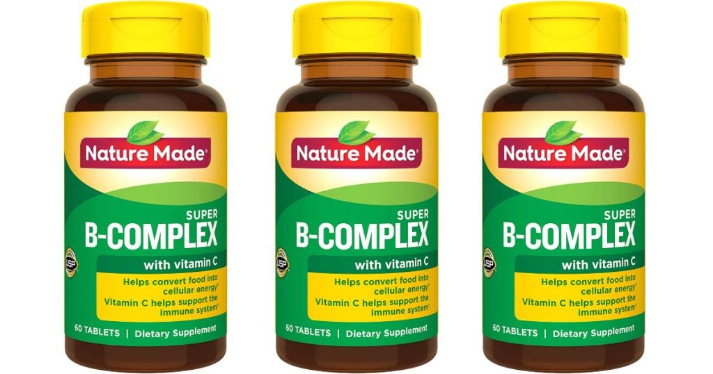 Nature Made Super B-Complex 60-Count