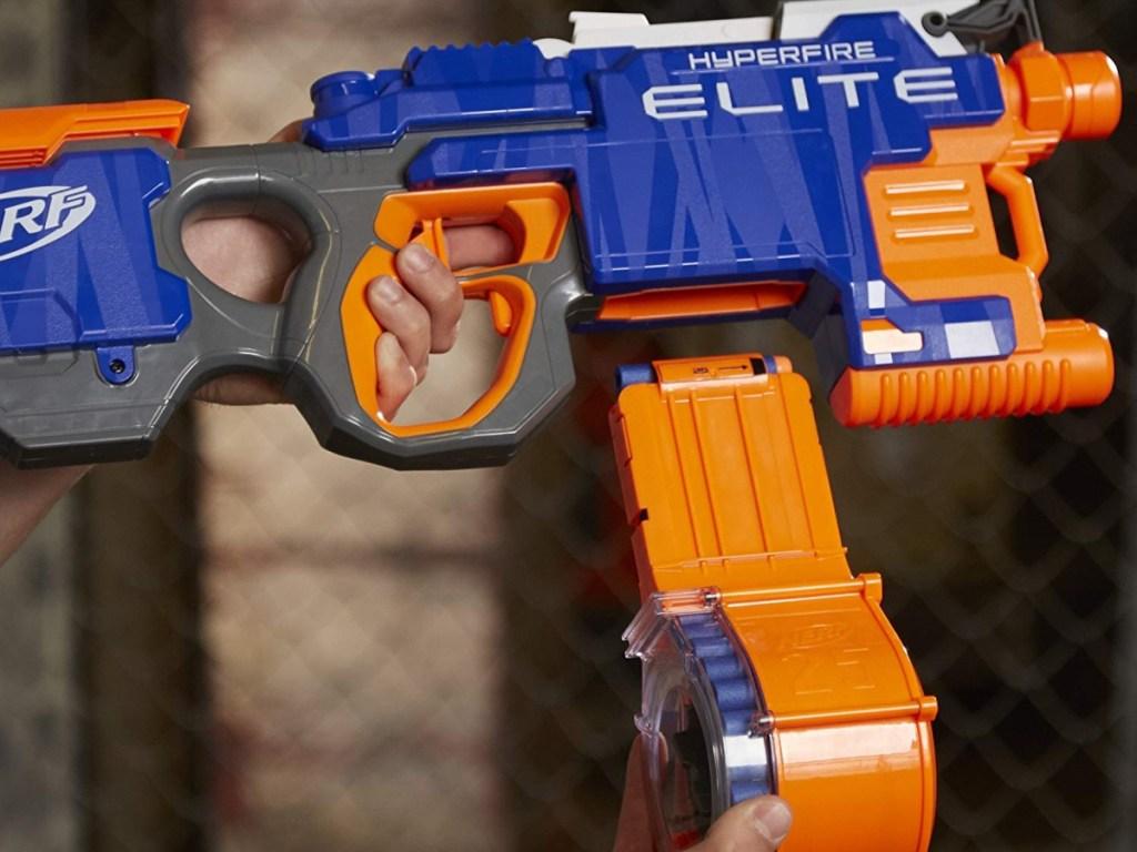 nerf elite hyperfire blaster