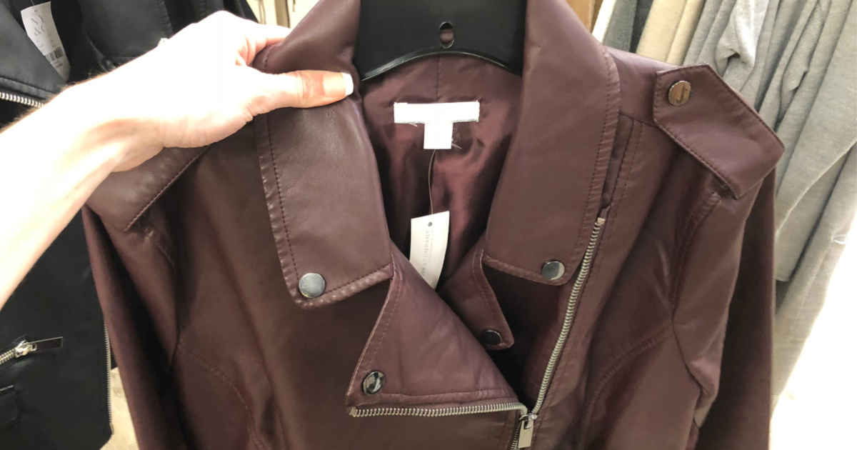 moto jacket from new york & co