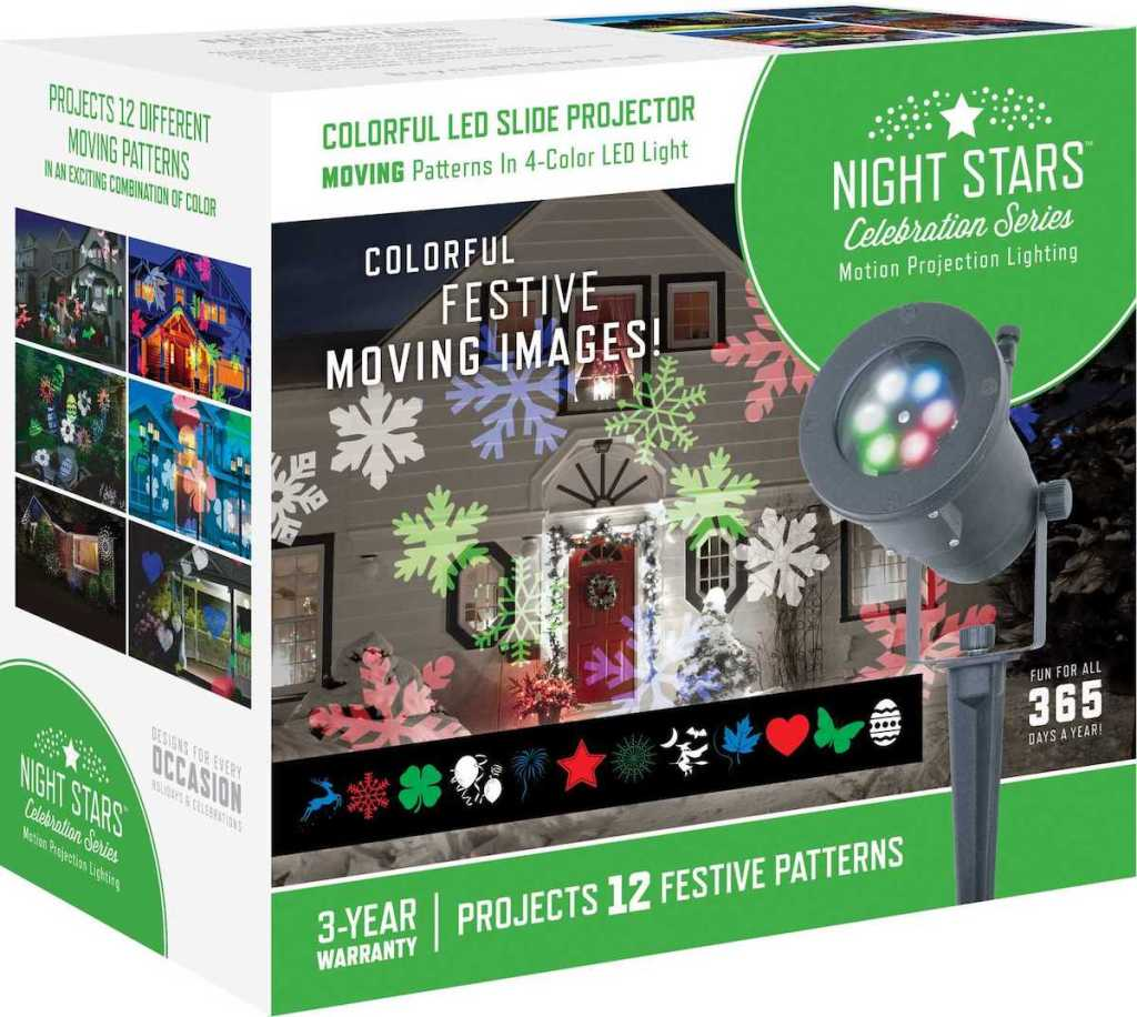 Night Stars Lightshow LED Holiday Images Box