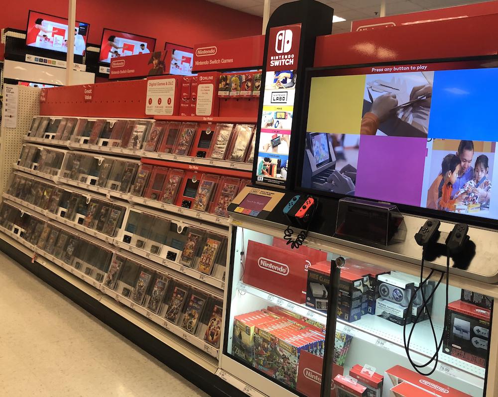 Nintendo Switch Games at Target