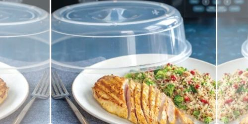 Nordic Ware Microwave Spatter Cover Only $1.79