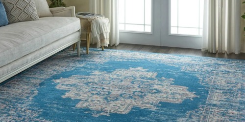 Over 70% Off Nourison Area Rugs & Rug Pads + Free Shipping for Kohl's Cardholders