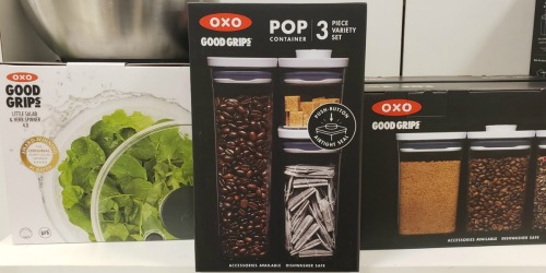 Up To 60% Off OXO Food Storage Sets & Kitchenware + Free Shipping at Macy's