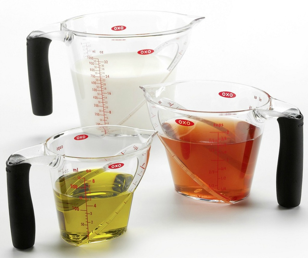 OXO Brand measuring cups three-pack
