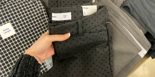 Old Navy Women's Pixie Pants Only $15 (Regularly $36) + More