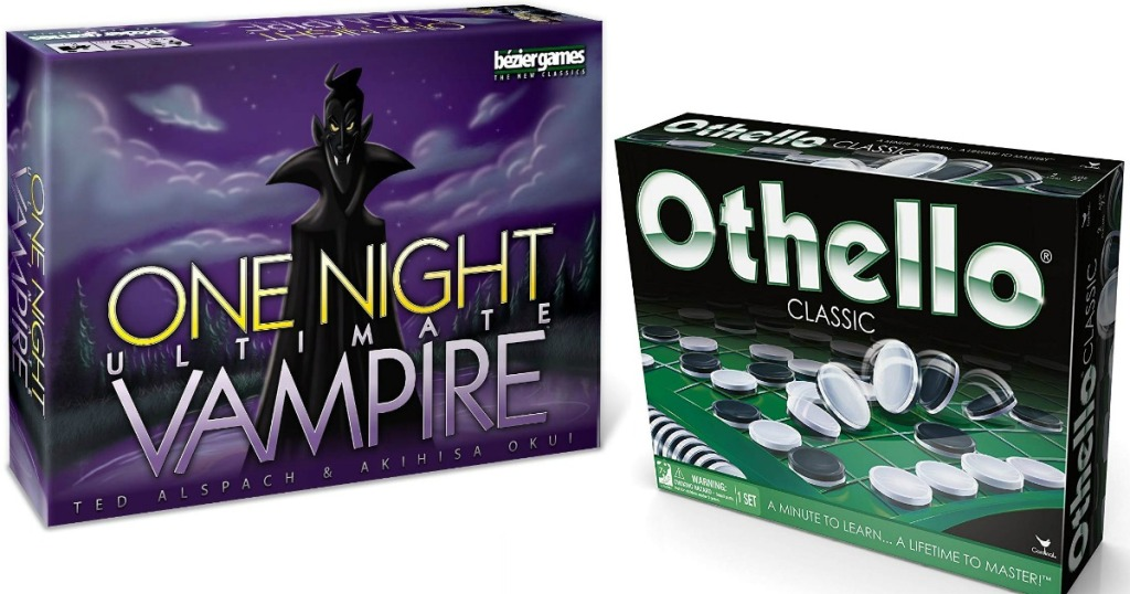 One Night Ultimate Vampire and Othello games
