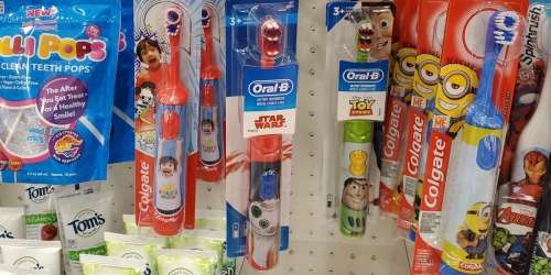 FOUR Oral-B Electric Kids Toothbrushes Only $8.47 at Target | Great Stocking Stuffer Idea
