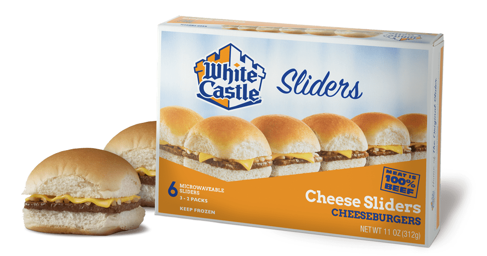 frozen cheeseburger sliders from White Castle