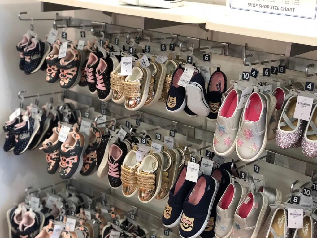 OshKosh Shoes on display