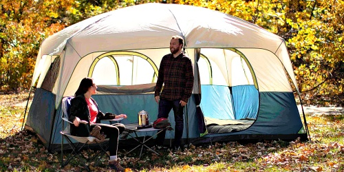 Ozark Trail 14′ x 10′ Family Cabin Tent Only $75 Shipped at Walmart (Regularly $129)