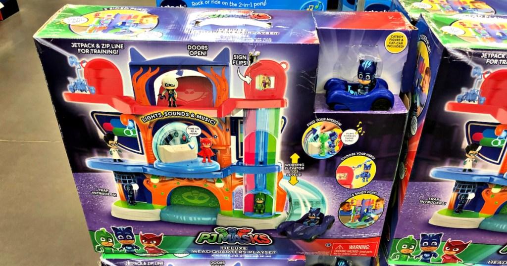 PJ Masks Deluxe Headquarters Playset