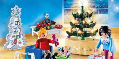 PLAYMOBIL Christmas Living Room Only $9.49 at Walmart.com (Regularly $25)