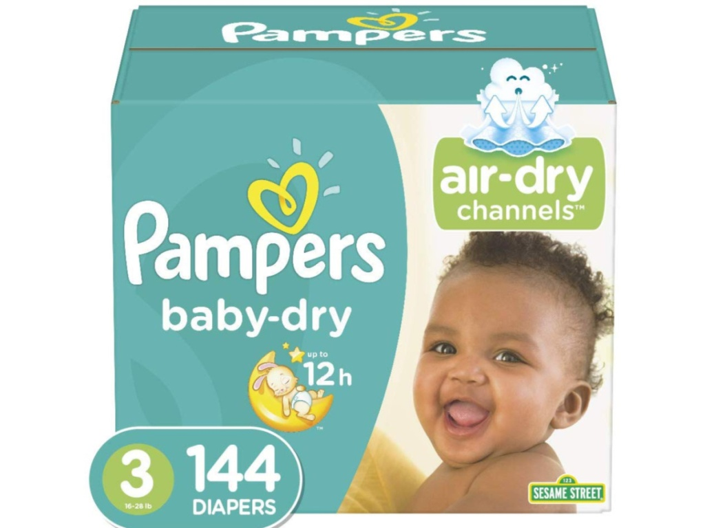 Pampers Size 3 144-count