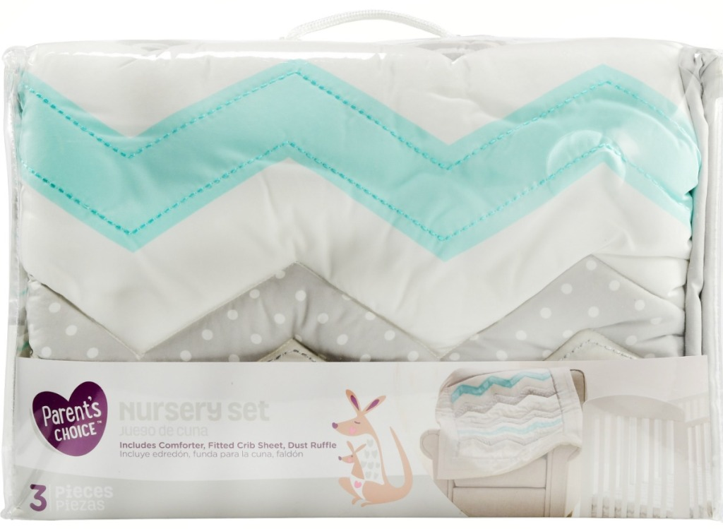 Parent's Choice Nursery set in package with quilt